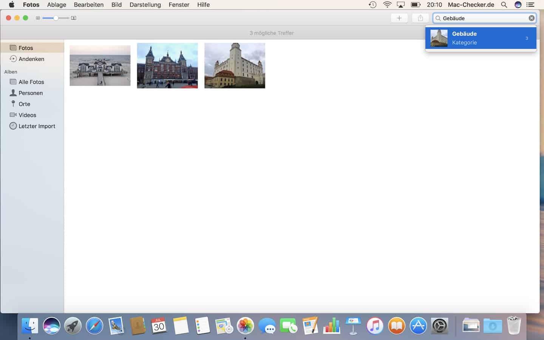 Künstliche Intelligenz lässt die Fotos App zuverlässig Bilder automatisch nach